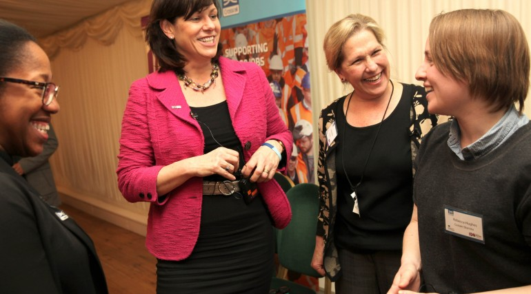 Rail Minister Claire Perry celebrates contribution of women to Crossrail_220834