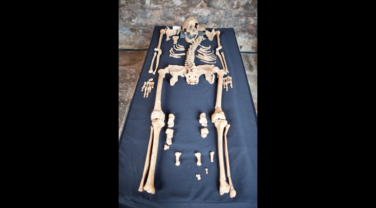 Skeletons discovered at Charterhouse Square confirmed as black death victims_132107