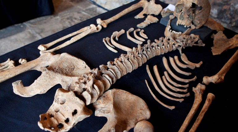Skeletons discovered at Charterhouse Square confirmed as black death victims_132128