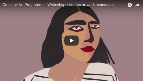 A Sunday afternoon in Whitechapel inspires major artwork at new Elizabeth line station