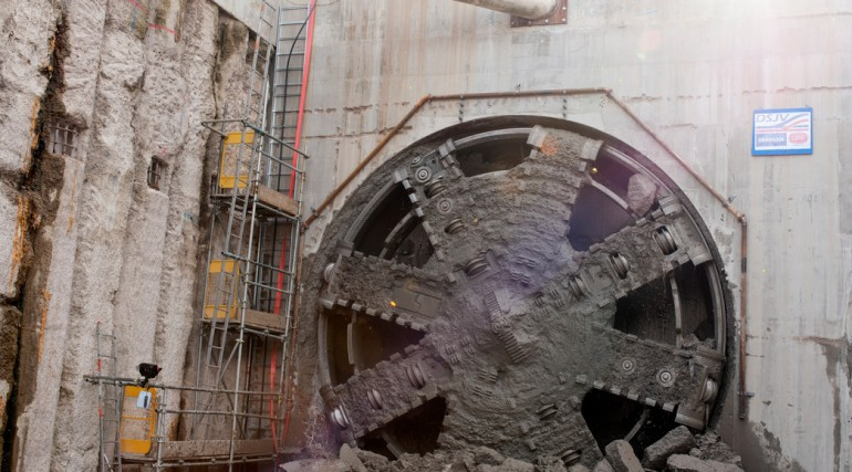 TBM Jessica Breakthrough - Royal Victoria Dock Portal_152785