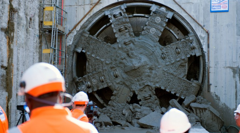 TBM Jessica Breakthrough - Royal Victoria Dock Portal_152787
