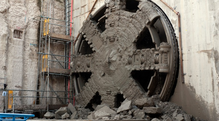 TBM Jessica Breakthrough - Royal Victoria Dock Portal_152792