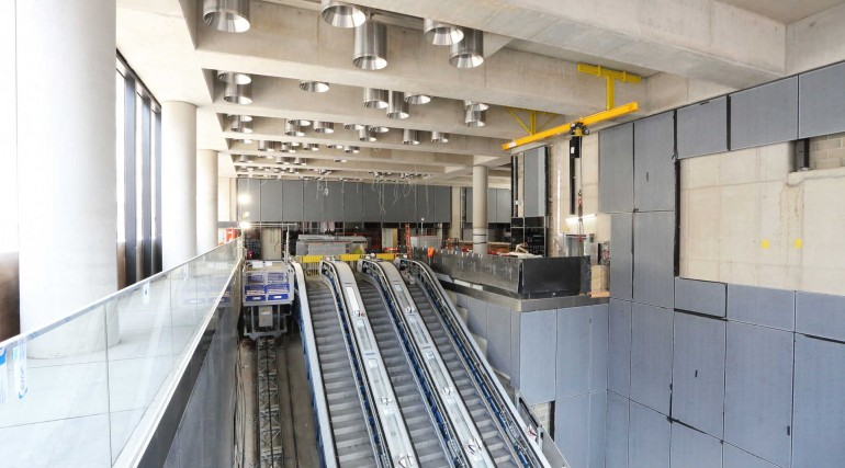 Tottenham Court Road station western ticket hall April 2018_304205