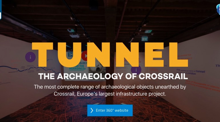 Tunnel - The Archaeology of Crossrail - online exhibition