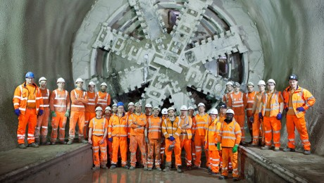 Crossrail completes unprecedented fortnight of tunnelling milestones