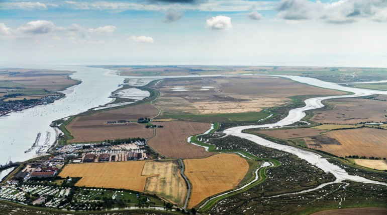 Wallasea Island - pre-sea wall breach works_167057